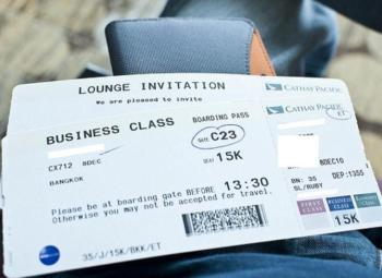 ตั๋วเครื่องบิน